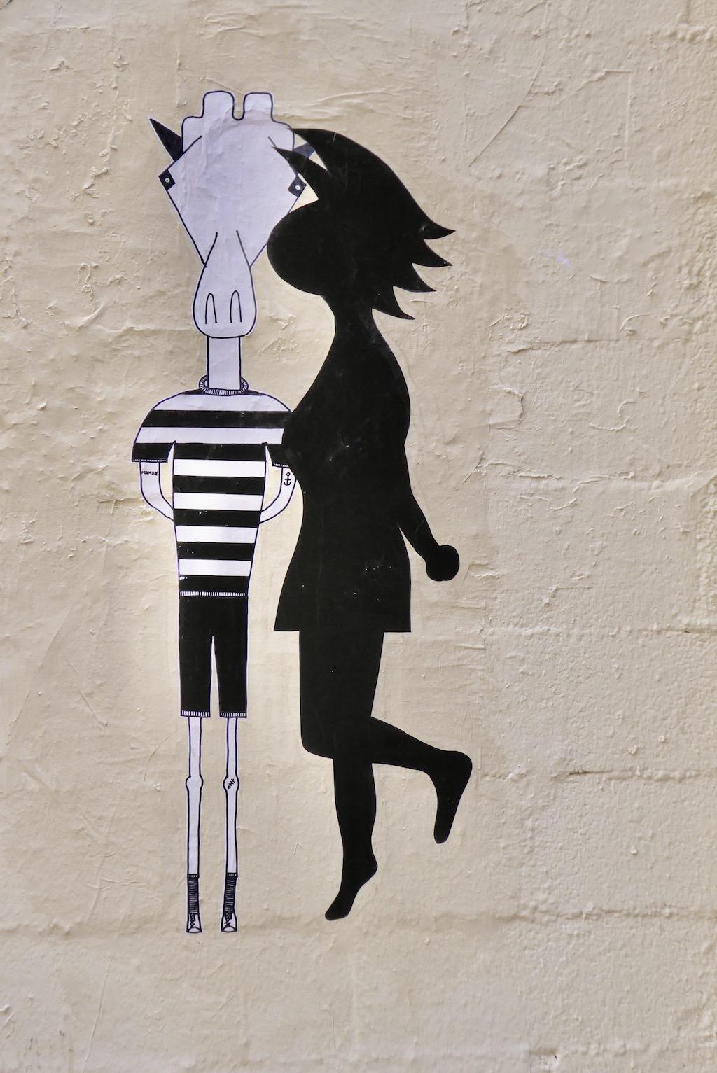 Graffiti Kuss